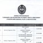 Kota Tasikmalaya Tuan Rumah Turnamen Liga Nusantara (LINUS) Grup A Putaran 1 Jawa Barat